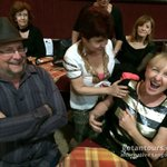 Meeting the locals at a milonga