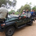 COMFORTABLE SAFARIS WITH A FEW PEOPLE ONLY