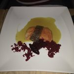 Salmon Trout and Beetroot