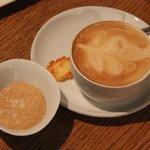 Velvety cappuccino