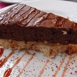 GF chocolate cheesecake