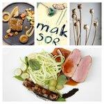 Line of MÁK (MÁKsor) - The tasting menu