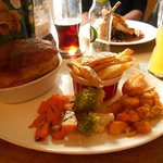 lunch at carpenters arms