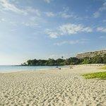 Mauna Kea Beach HI resort is right there