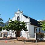 Church in Stellenbosch square