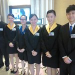 Front desk team at T Hotel