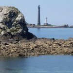 La côte rocheuse et sauvage de Plouguerneau Finistère