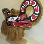 Crooked Beak Mask by Ross Henderson, Kwakwaka'wakw Artist