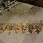 A delicious & decorative appetiser