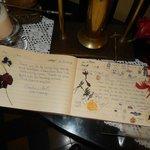 guests book
