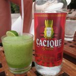 The local rum and a guajito - a must try!