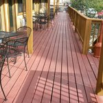 Our deck...