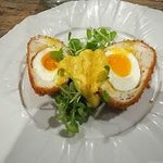 Smoked Haddock Scotch Eggs.
