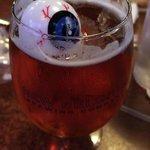 Amazing beers! Halloween floating eyes!