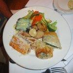 Greek combination dinner