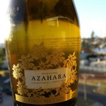 A lovely sparkling wine called Azahara was in the mini bar for our sundowner
