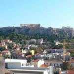 View to the Acropolis