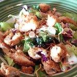 Oriental crispy chicken salad