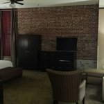 Massive rooms and lovely brick walls
