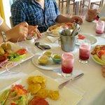 Comida típica de la amazonía.