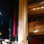 Início da apresentação Orquestra Sinfônica Municipal de Santos e Babi Mendes.