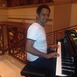 Music before dinner at marriot ..