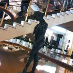 elegant ballerina sculpture