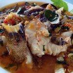 Woku Ikan Goropa (ikan malas)