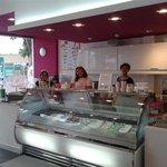 friendly staff - top service- premium Gelato