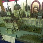 Houses of parliament made out of marzipan
