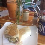 Beautiful fresh wraps and juices hard to come by in airlie