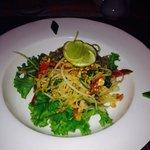 Papaya salad delicious