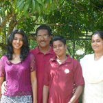 Mr Chacko and his family