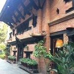 Bela mostra de arquitetura nepalense