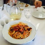 spaghetti con le cozze: un pizzico di sale di troppo ma buoni buoni buoni…