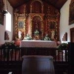 Inside the Orosi Valley Church.