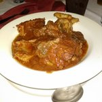 Assorted Meats--Tripe, Cow Skin and Beef..served with rice