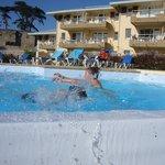 piscine extérieur chauffée