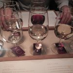 A few different types of wine - all carefully selected.
