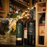 A selection of our fine wines on display