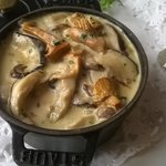Cassolette de champignons