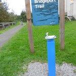 Bridgeport Trail walking route from hotel