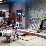 Master Weaver Miguel Andrango's Studio