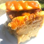 Decadent Banana Caramel Bread Pudding