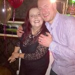 Me and my wife enjoying her 40th at the Carnock Inn
