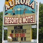Photo 1 - The Aurora Resort Motel Marquee