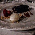 Dark chocolate terrine