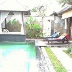 villaの中 pool