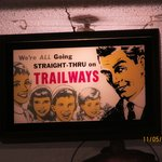 From the Past-Continental Trailways Sign