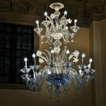 One of gorgeous Murano chandelier